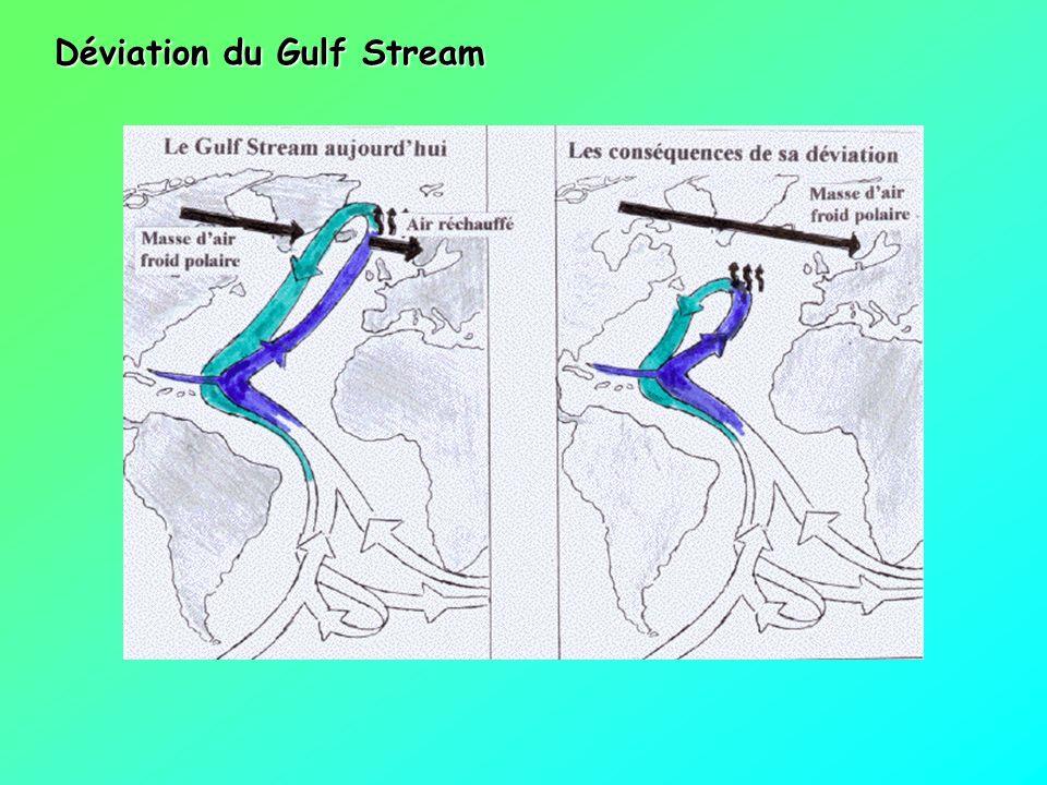 Déviation du Gulf Stream