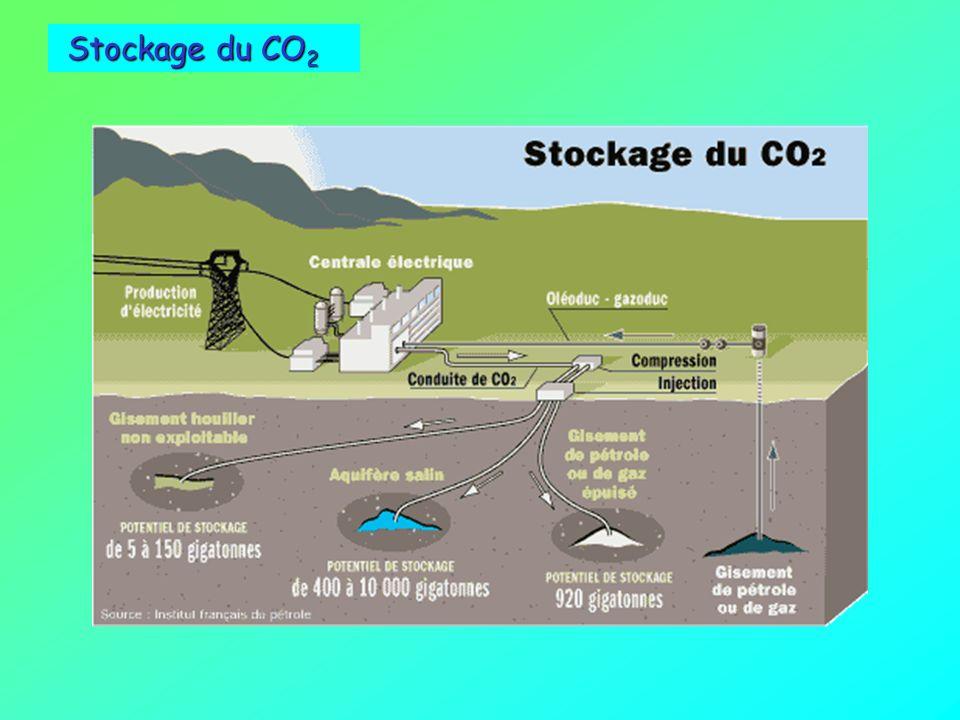 Stockage du CO2 environnement et énergies