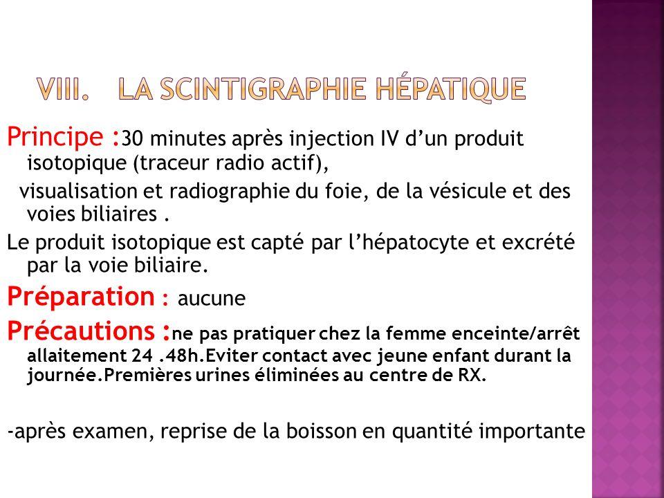 La scintigraphie hépatique