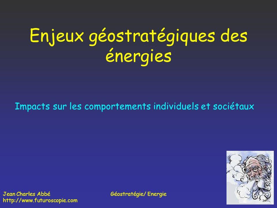 Enjeux géostratégiques des énergies