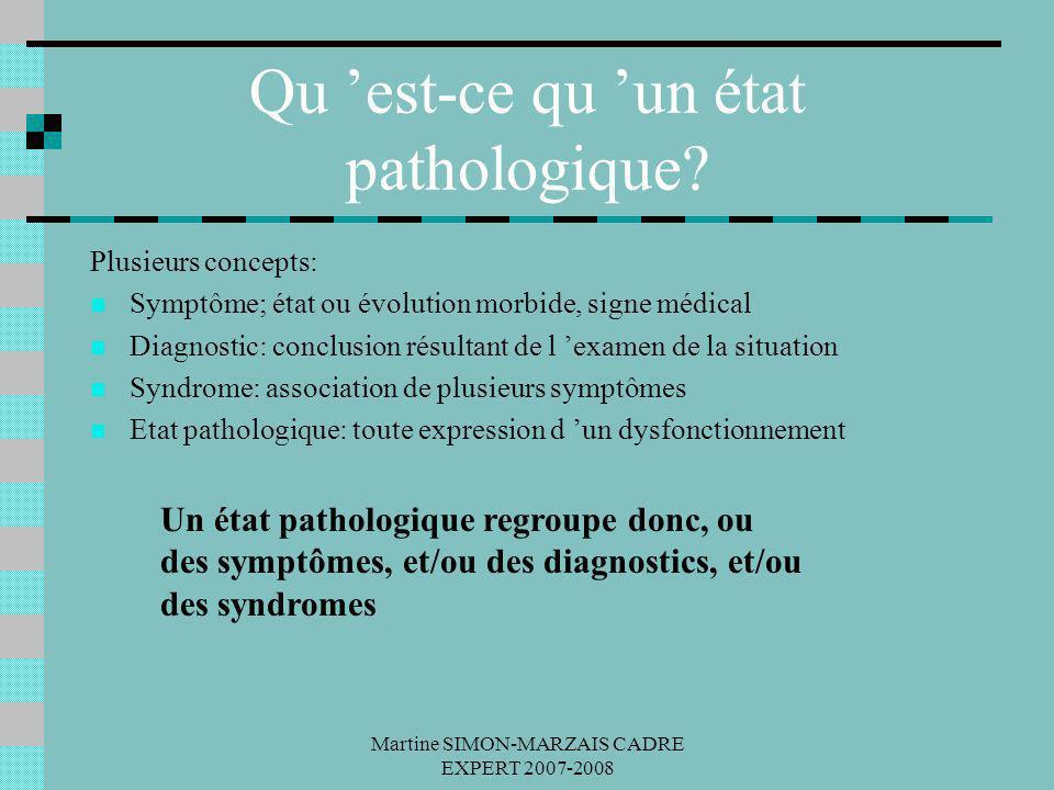 Qu 'est-ce qu 'un état pathologique