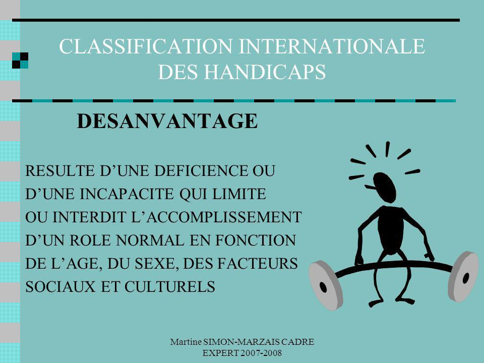 CLASSIFICATION INTERNATIONALE DES HANDICAPS