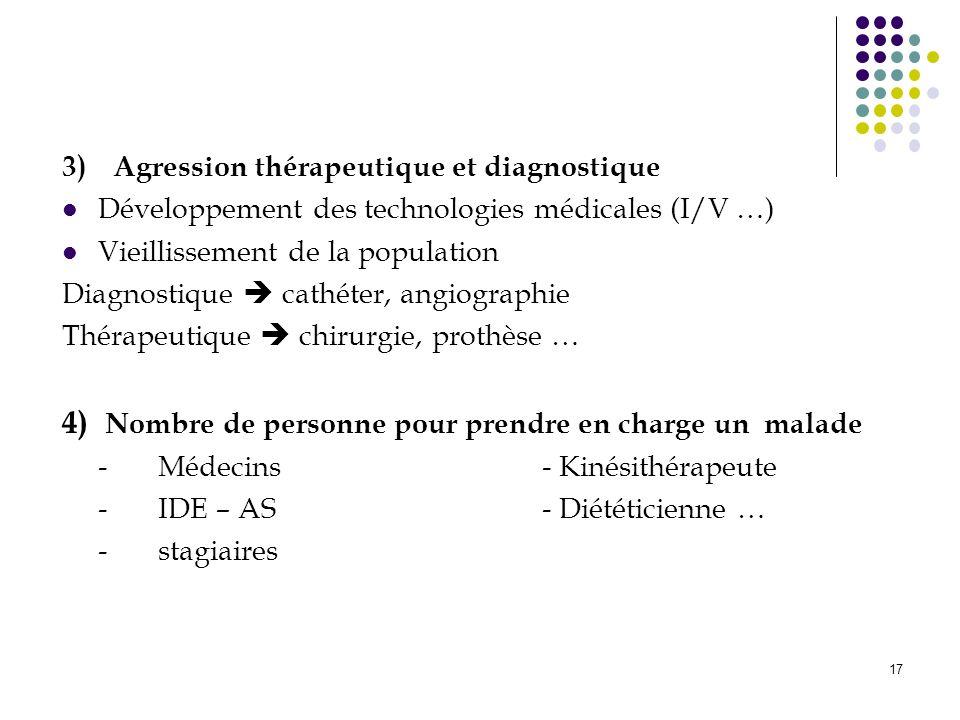 4) Nombre de personne pour prendre en charge un malade