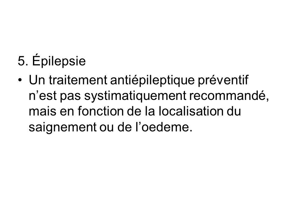 5. Épilepsie