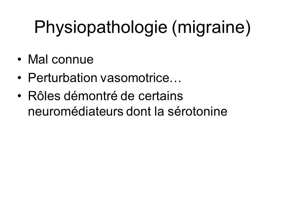 Physiopathologie (migraine)