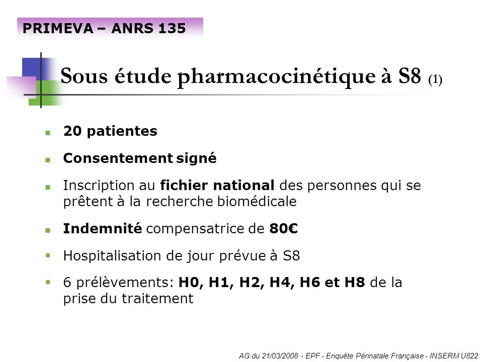 Sous étude pharmacocinétique à S8 (1)