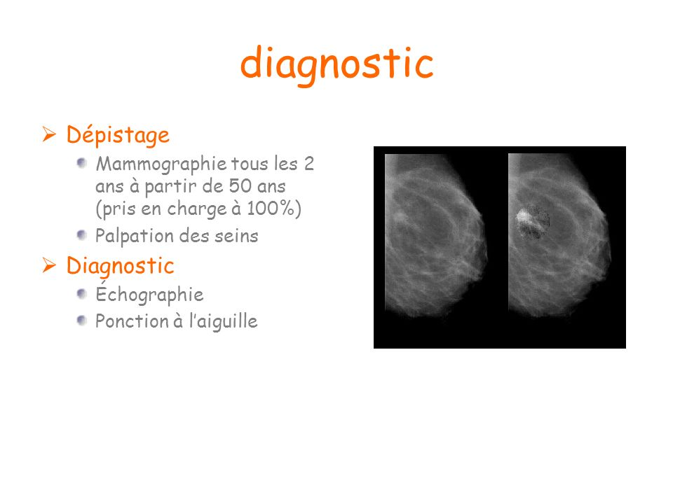 diagnostic Dépistage Diagnostic