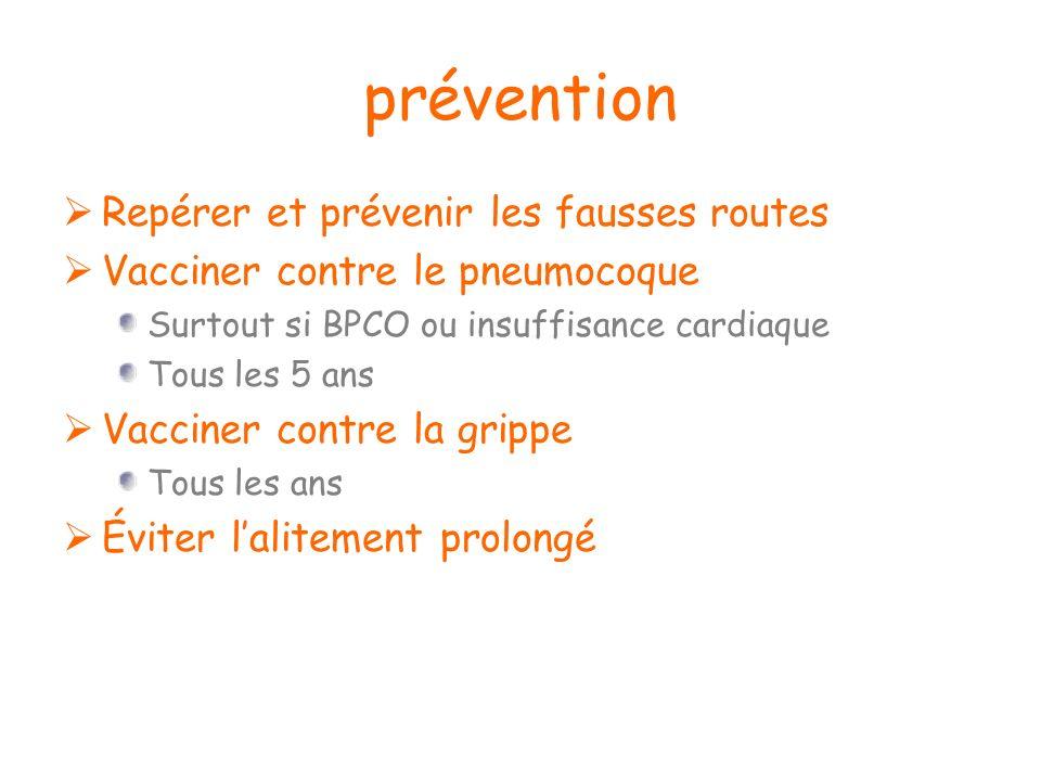 prévention Repérer et prévenir les fausses routes