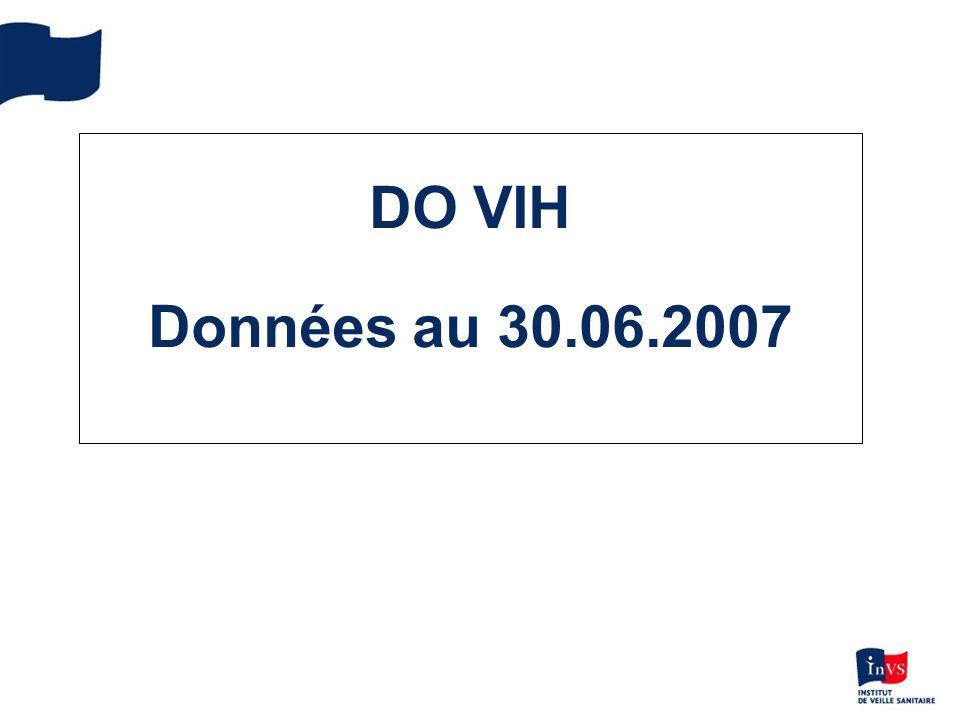 DO VIH Données au 30.06.2007
