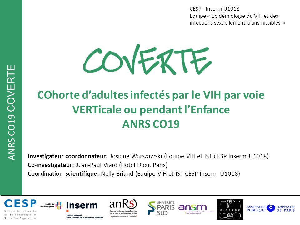 CESP - Inserm U1018 Equipe « Epidémiologie du VIH et des infections sexuellement transmissibles »