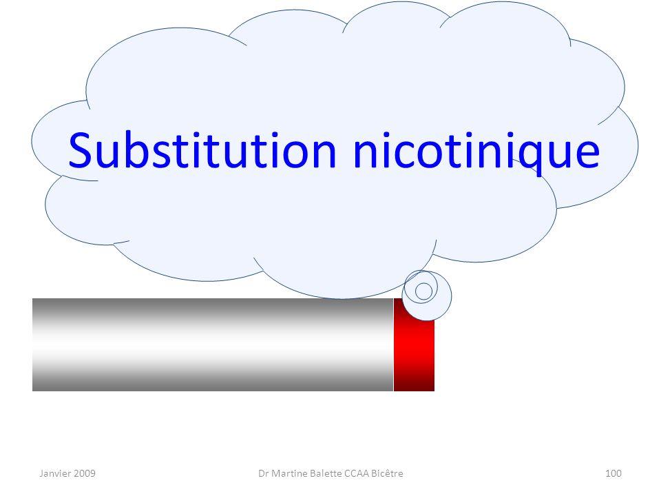 Substitution nicotinique