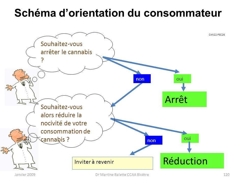 Schéma d'orientation du consommateur