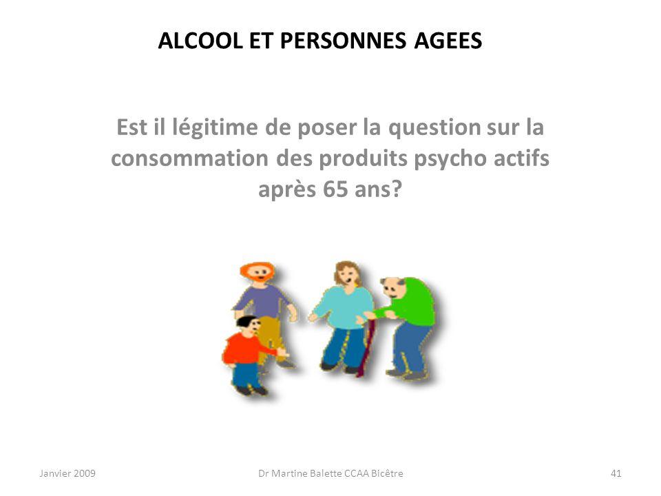 ALCOOL ET PERSONNES AGEES
