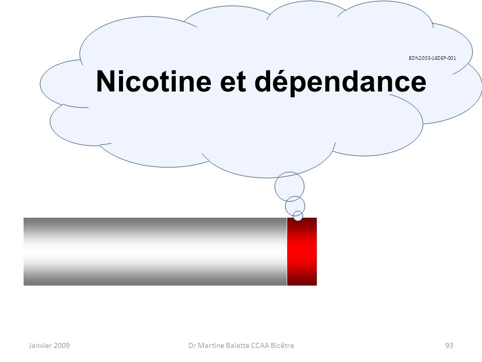 Nicotine et dépendance