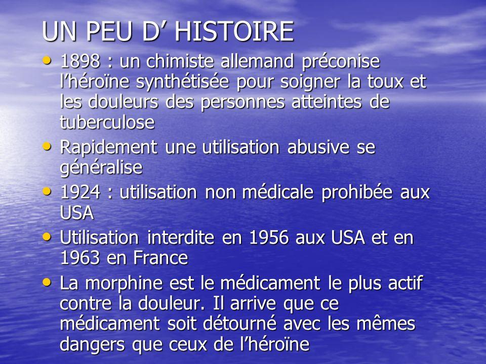 UN PEU D' HISTOIRE