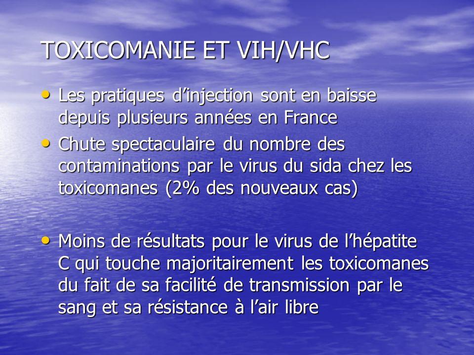 TOXICOMANIE ET VIH/VHC
