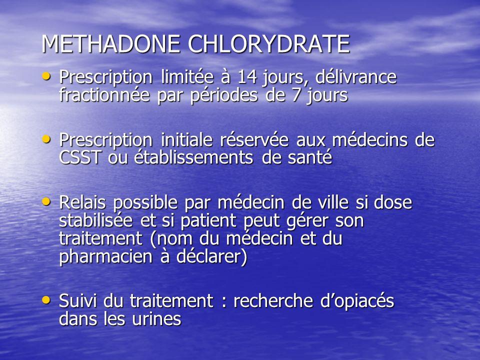 METHADONE CHLORYDRATE