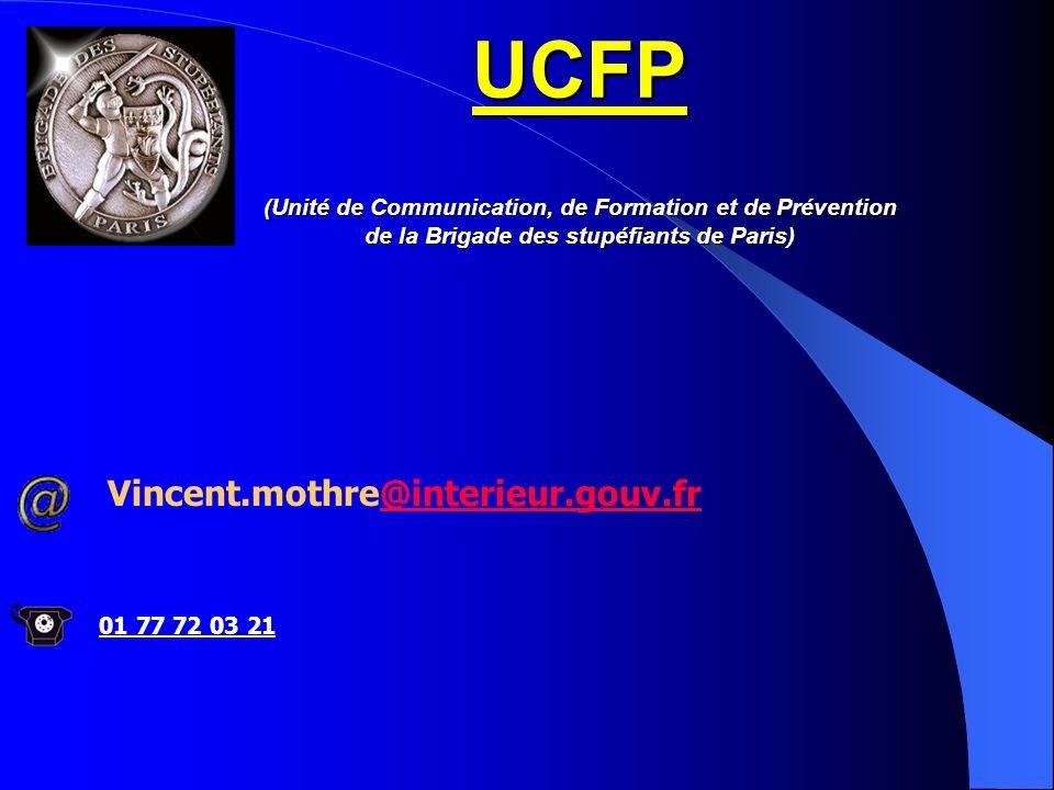 UCFP (Unité de Communication, de Formation et de Prévention de la Brigade des stupéfiants de Paris)
