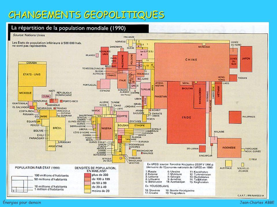 CHANGEMENTS GEOPOLITIQUES