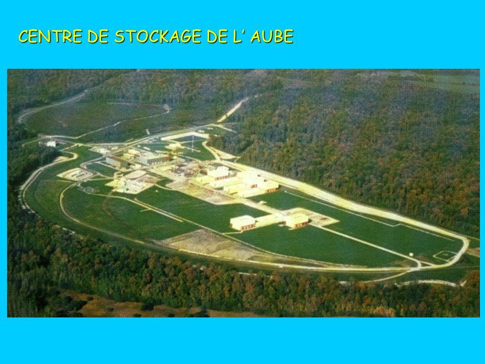 CENTRE DE STOCKAGE DE L' AUBE