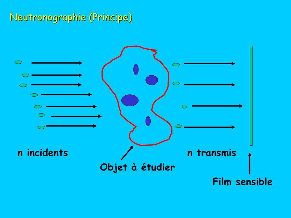 Neutronographie (Principe)