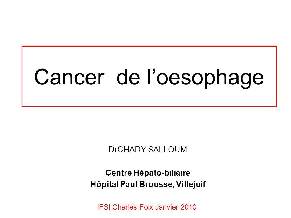 DrCHADY SALLOUM Centre Hépato-biliaire Hôpital Paul Brousse, Villejuif