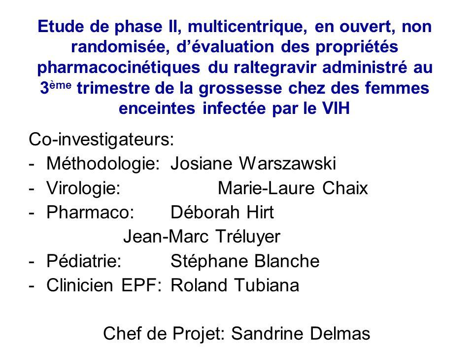 Chef de Projet: Sandrine Delmas