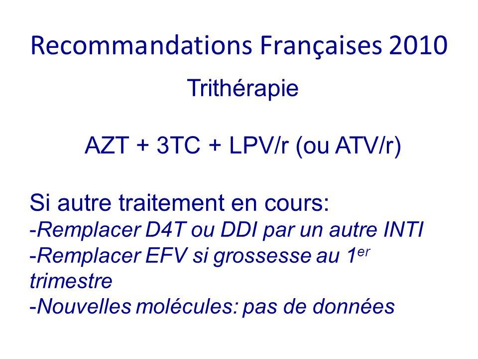 Recomma ndations Françaises 2010