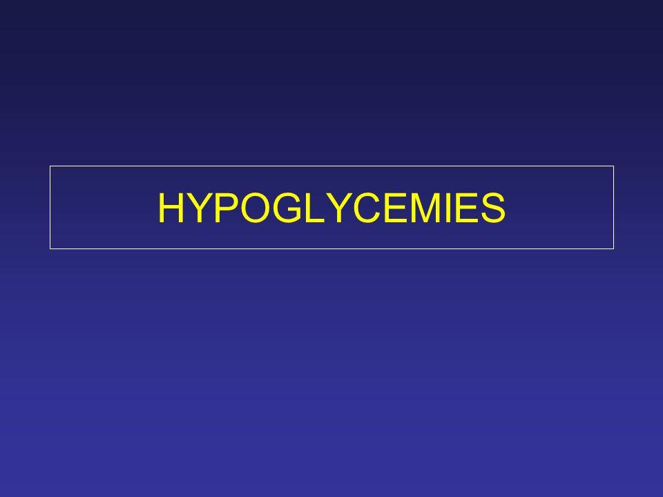HYPOGLYCEMIES
