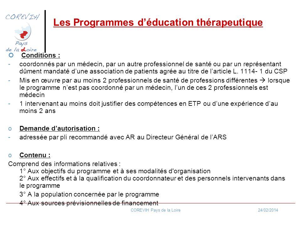 Les Programmes d'éducation thérapeutique