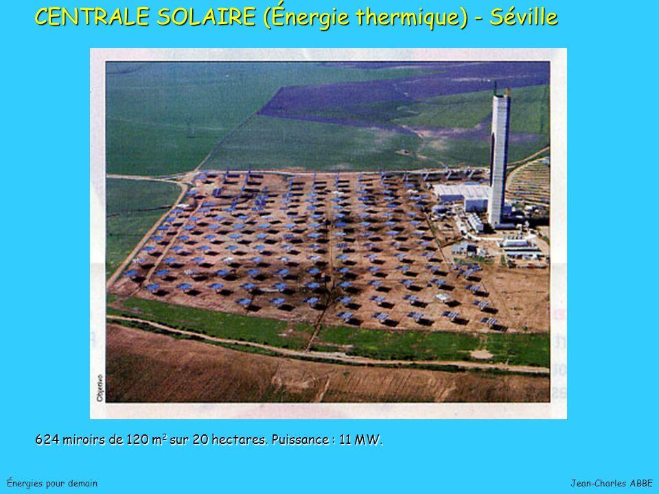 CENTRALE SOLAIRE (Énergie thermique) - Séville