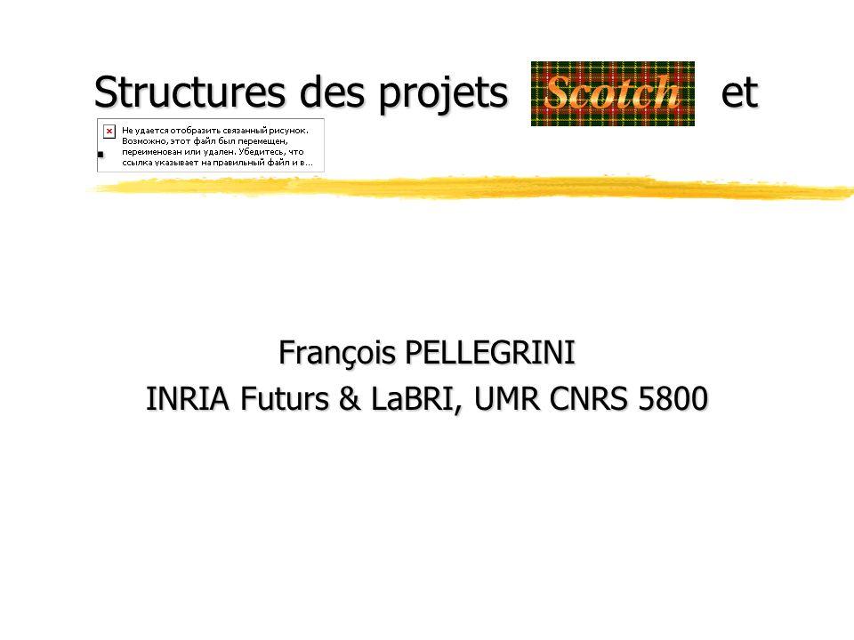 Structures des projets . et .