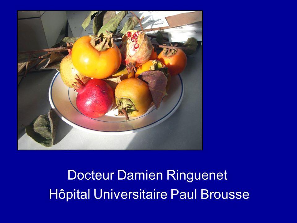 Docteur Damien Ringuenet Hôpital Universitaire Paul Brousse