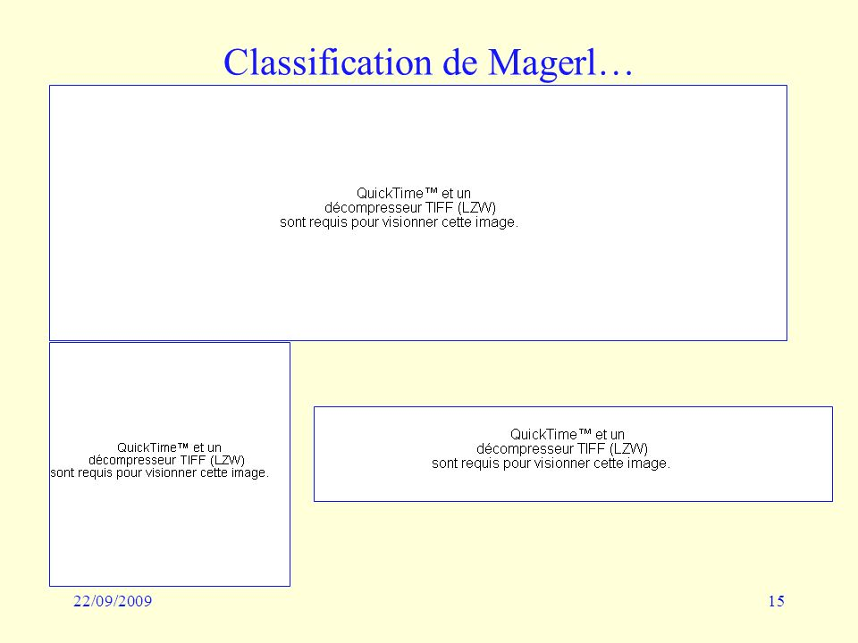 Classification de Magerl…