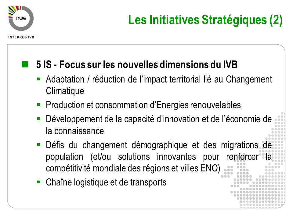 Les Initiatives Stratégiques (2)