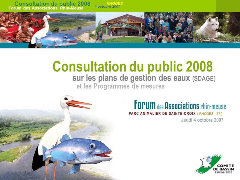 Consultation du public 2008
