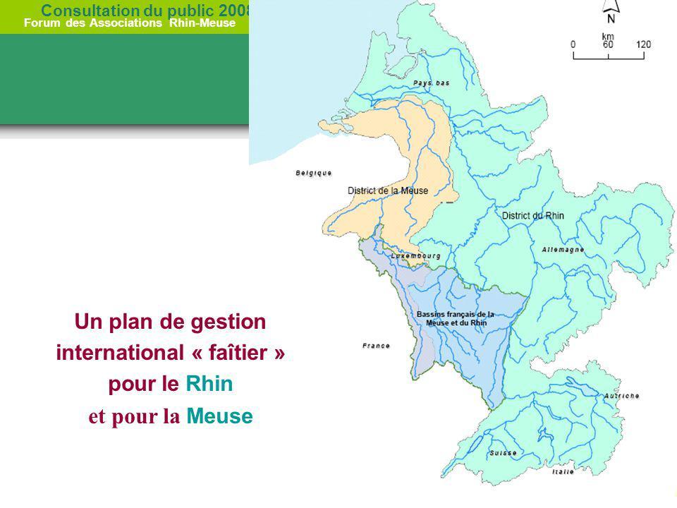 Un plan de gestion international « faîtier » pour le Rhin et pour la Meuse