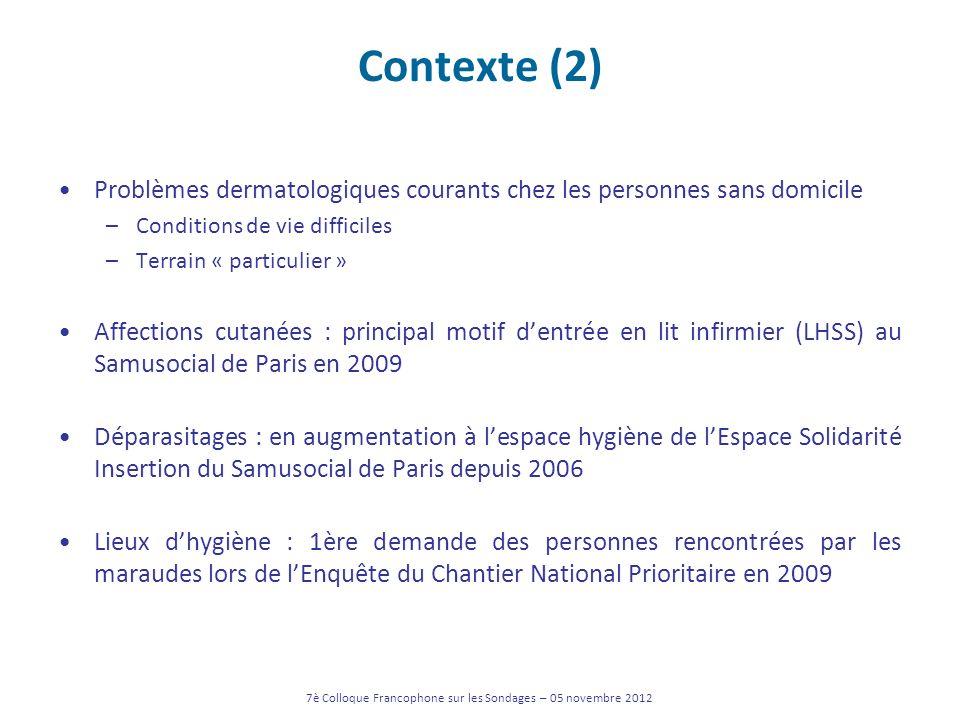 7è Colloque Francophone sur les Sondages – 05 novembre 2012