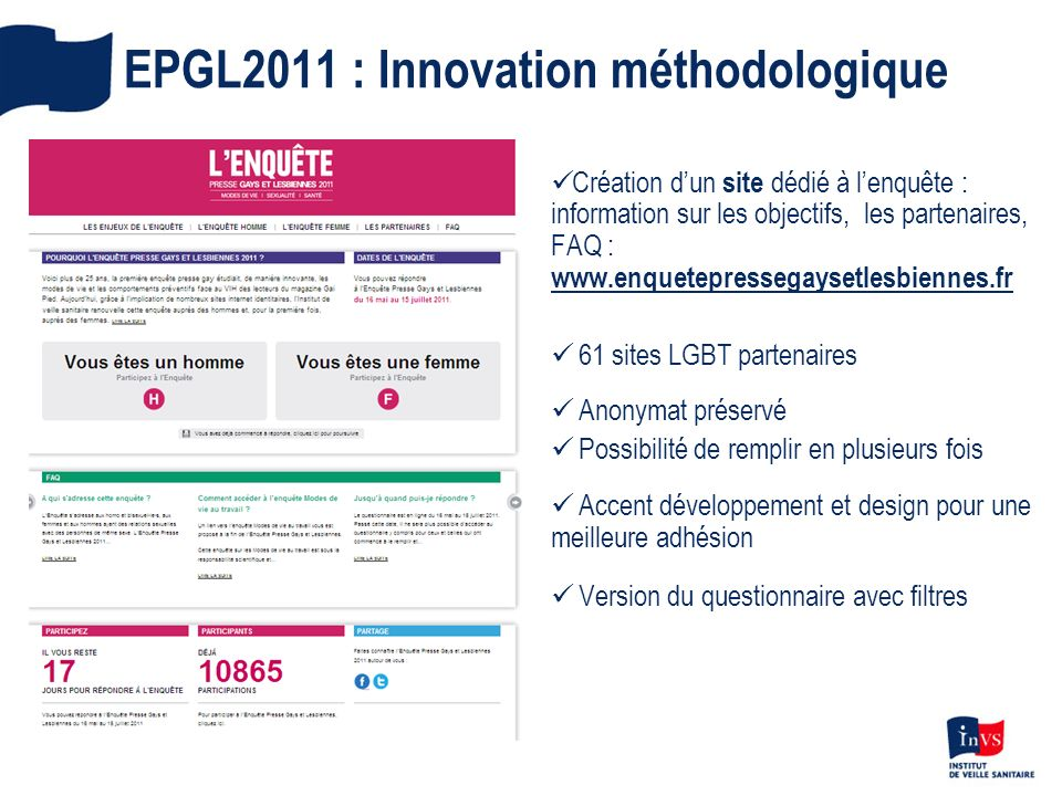 EPGL2011 : Innovation méthodologique