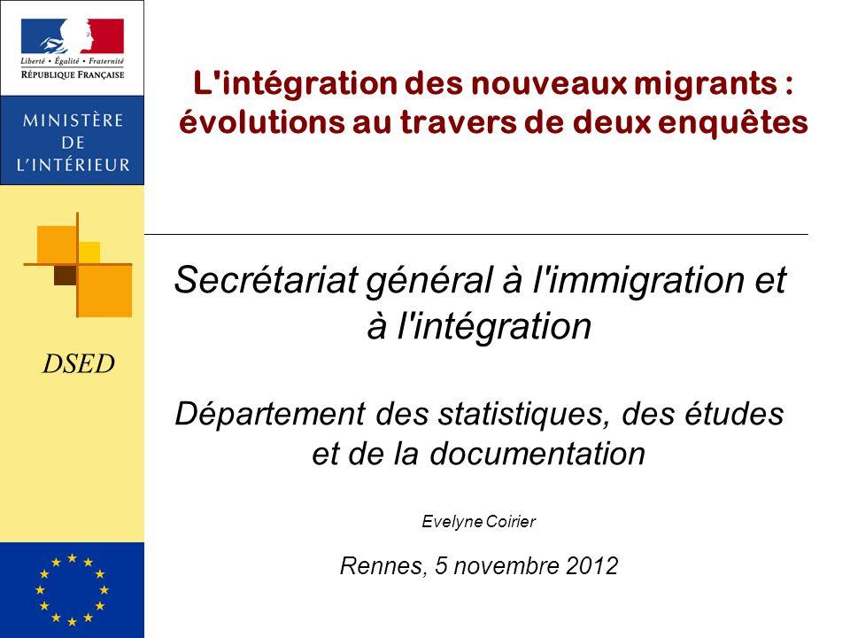 Secrétariat général à l immigration et à l intégration
