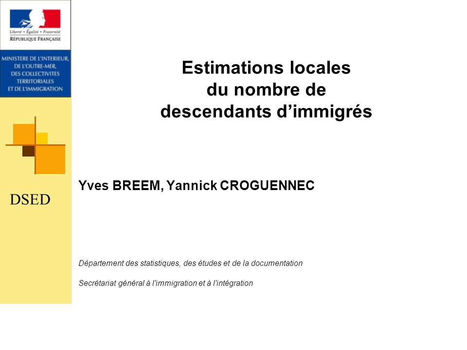 Estimations locales du nombre de descendants d'immigrés