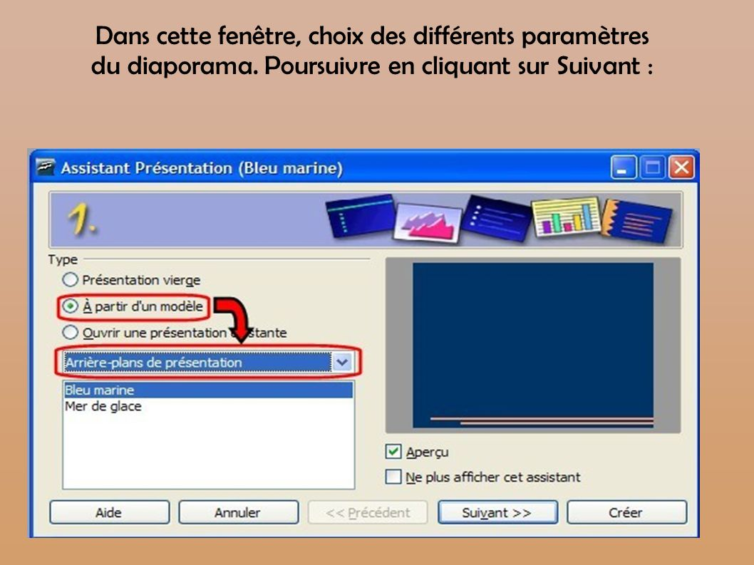 Cr er un diaporama avec open office impress ppt t l charger - Comment faire un diaporama sur open office ...