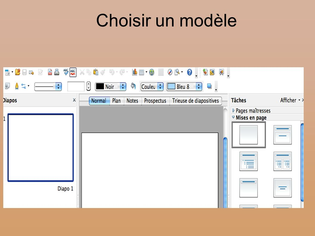 cr u00e9er un diaporama avec open office impress
