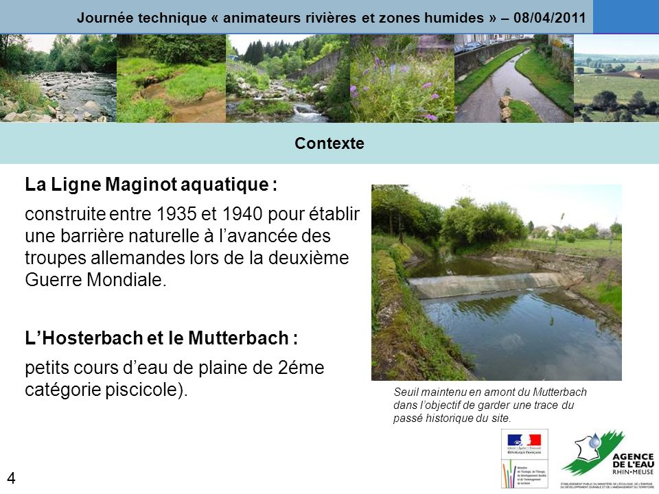 La Ligne Maginot aquatique :