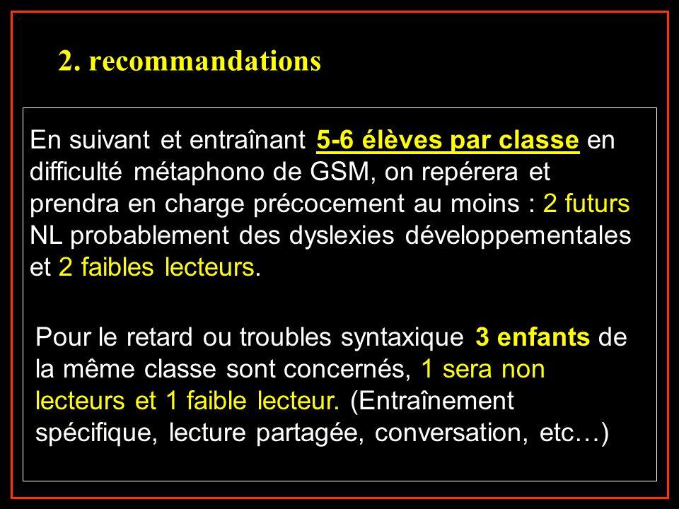 2. recommandations