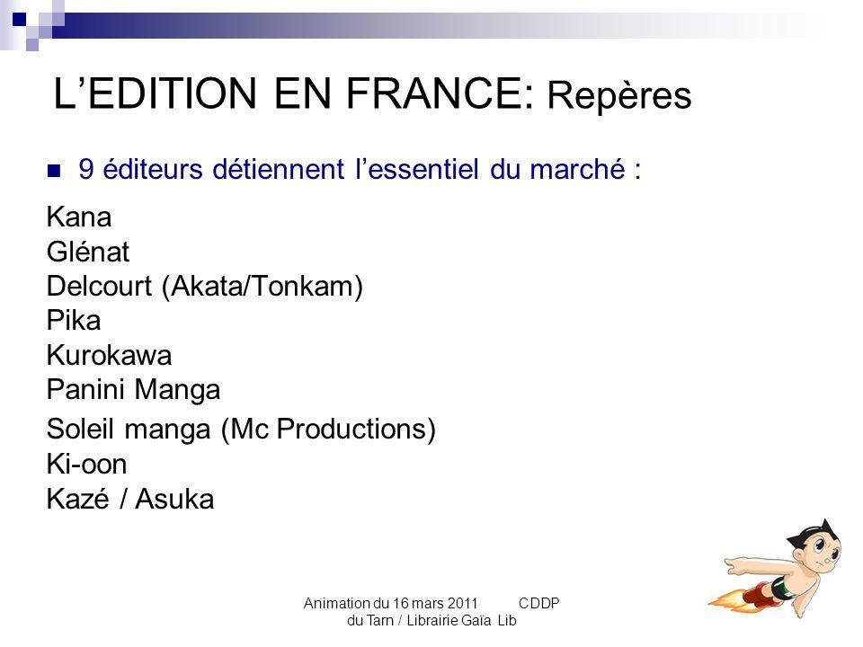 L'EDITION EN FRANCE: Repères