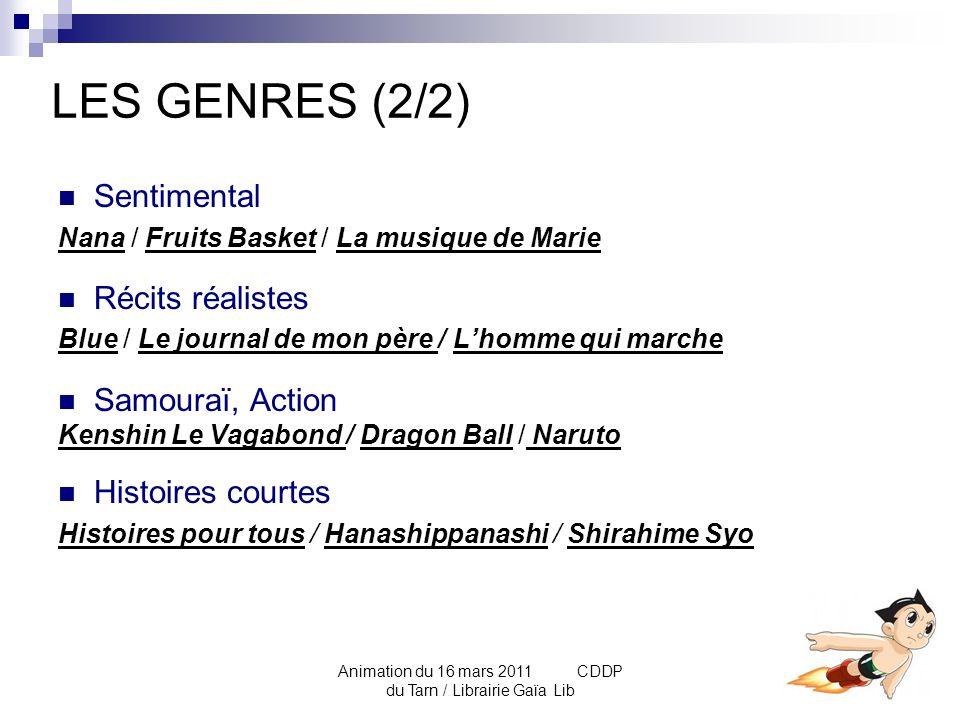 Animation du 16 mars 2011 CDDP du Tarn / Librairie Gaïa Lib