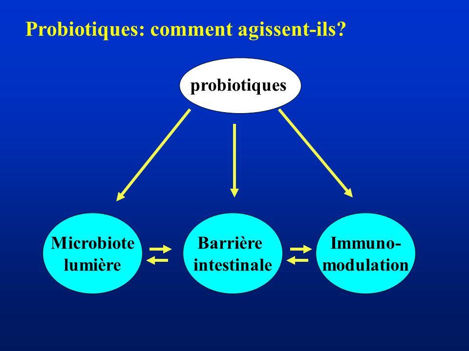 Probiotiques: comment agissent-ils