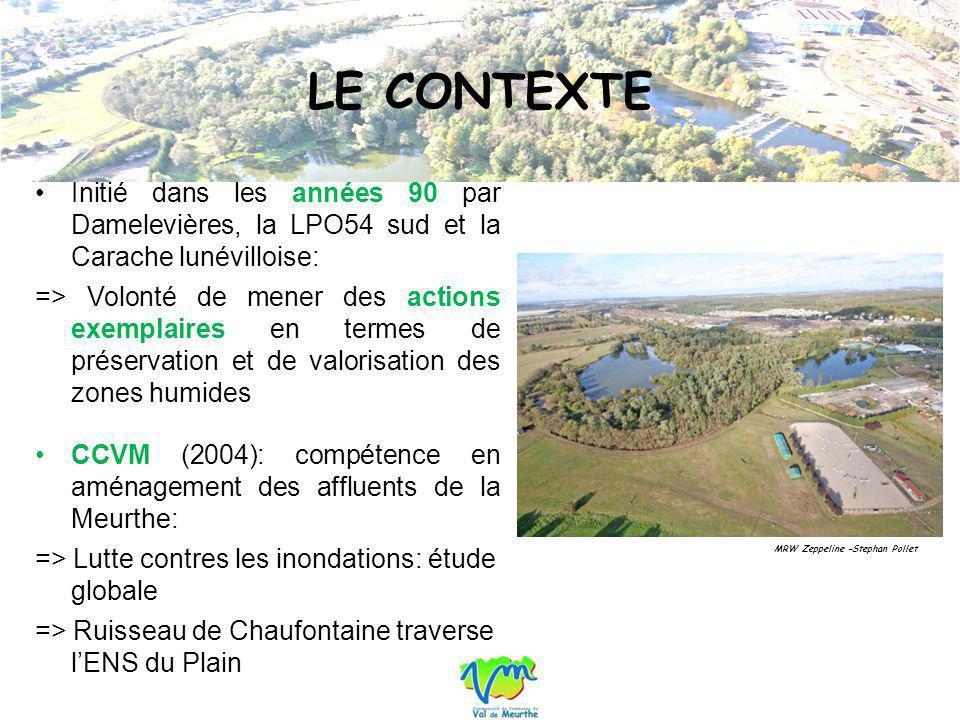 LE CONTEXTE Initié dans les années 90 par Damelevières, la LPO54 sud et la Carache lunévilloise: