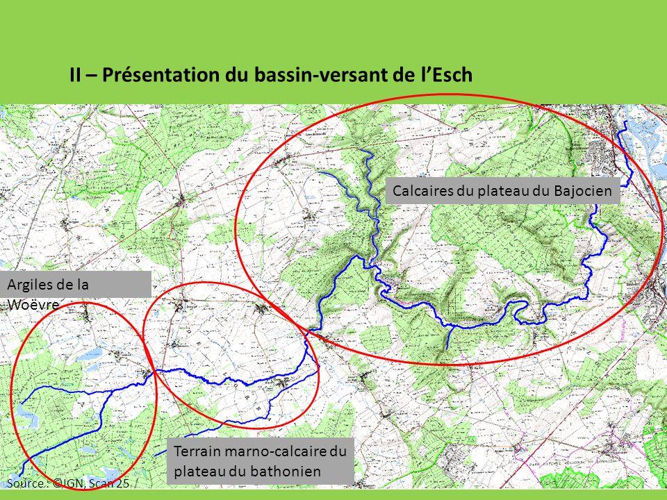 II – Présentation du bassin-versant de l'Esch